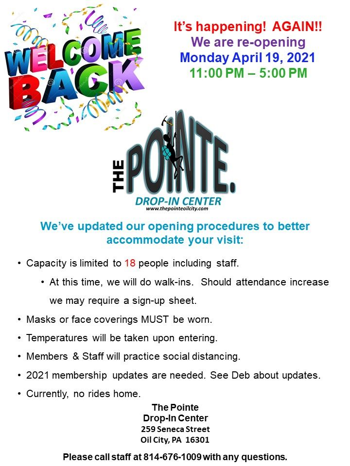 The Pointe open
